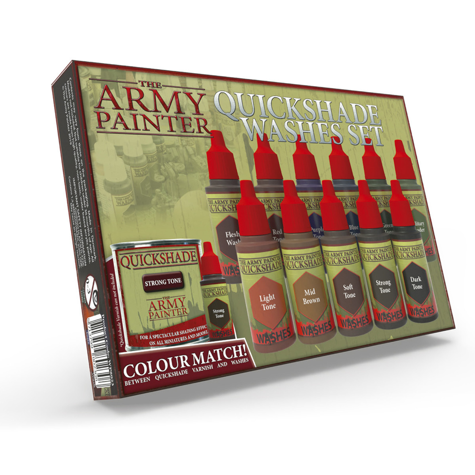 The Army Painter The Army Painter: Warpaints Quickshade Washes Set