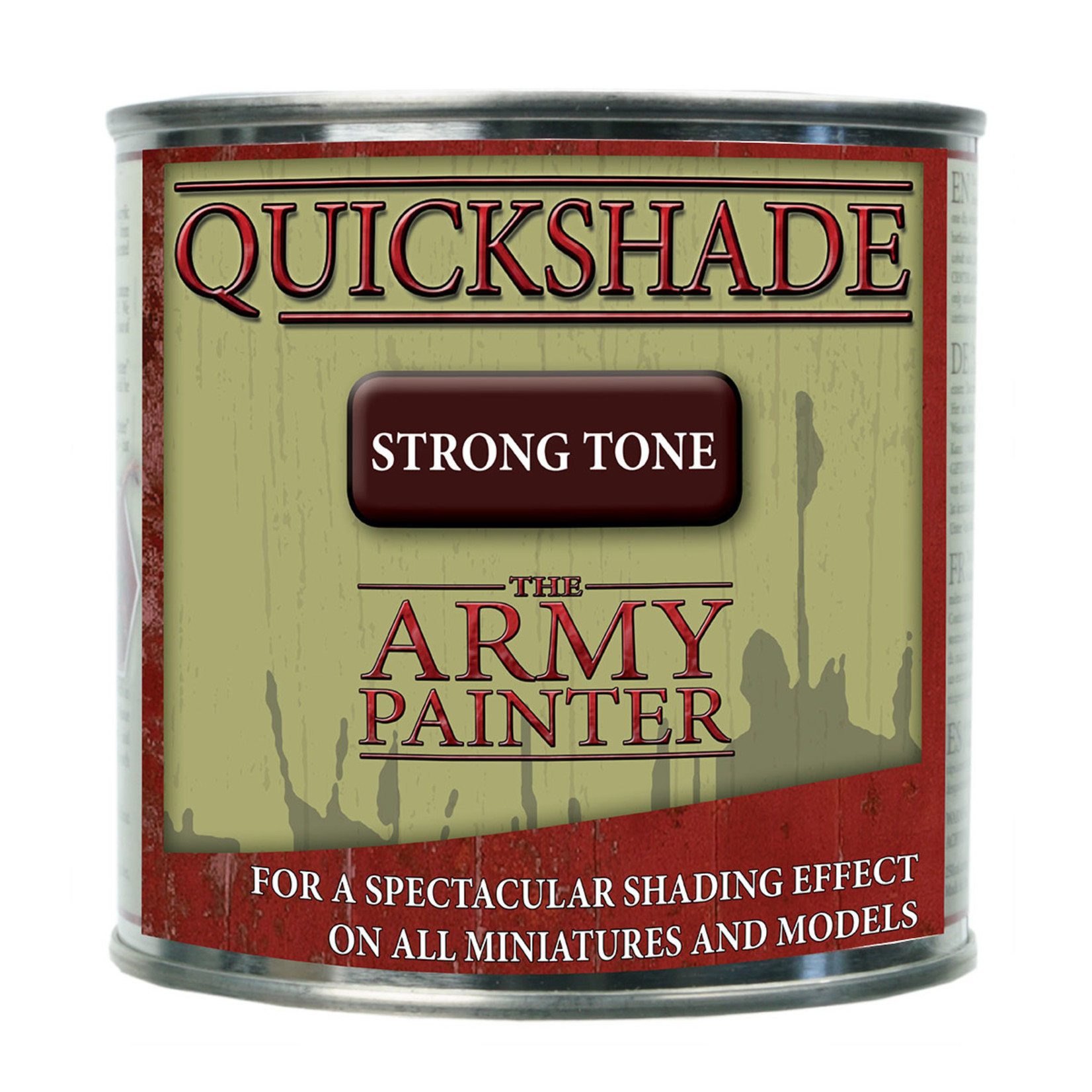 The Army Painter The Army Painter: Quickshade Strong Tone (Can)