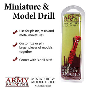 The Army Painter The Army Painter: Miniature & Model Drill