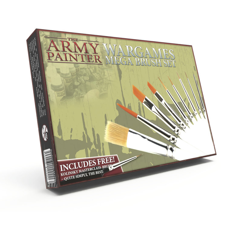 The Army Painter Hobby Starter: Mega Brush Set