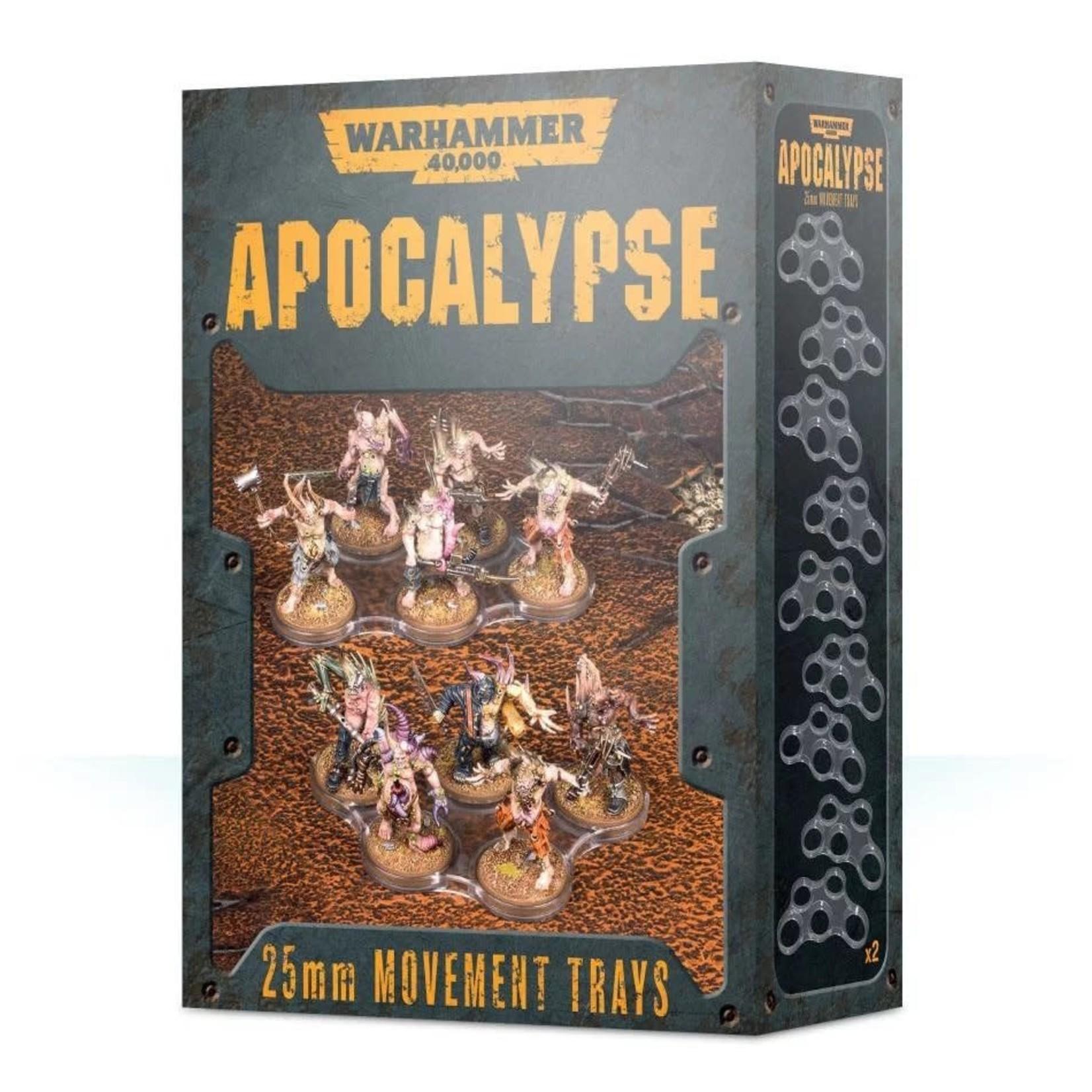 Games Workshop Warhammer 40k Apocalypse: 25mm Movement Trays