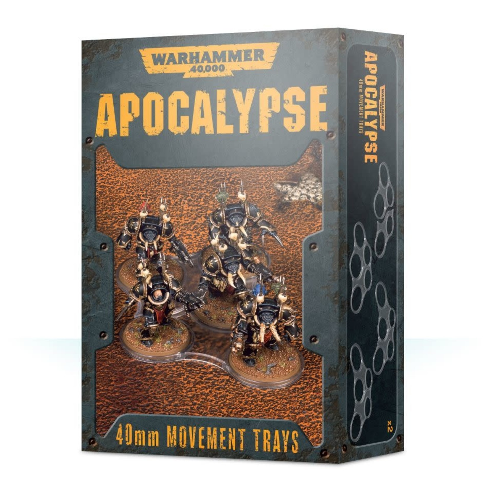 Games Workshop Warhammer 40k Apocalypse: 40mm Movement Trays