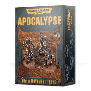 Games Workshop Warhammer 40k Apocalypse: 40mm Movement Trays