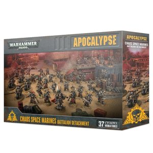 Games Workshop Warhammer 40k Apocalypse: Chaos Space Marines - Battalion Detachment