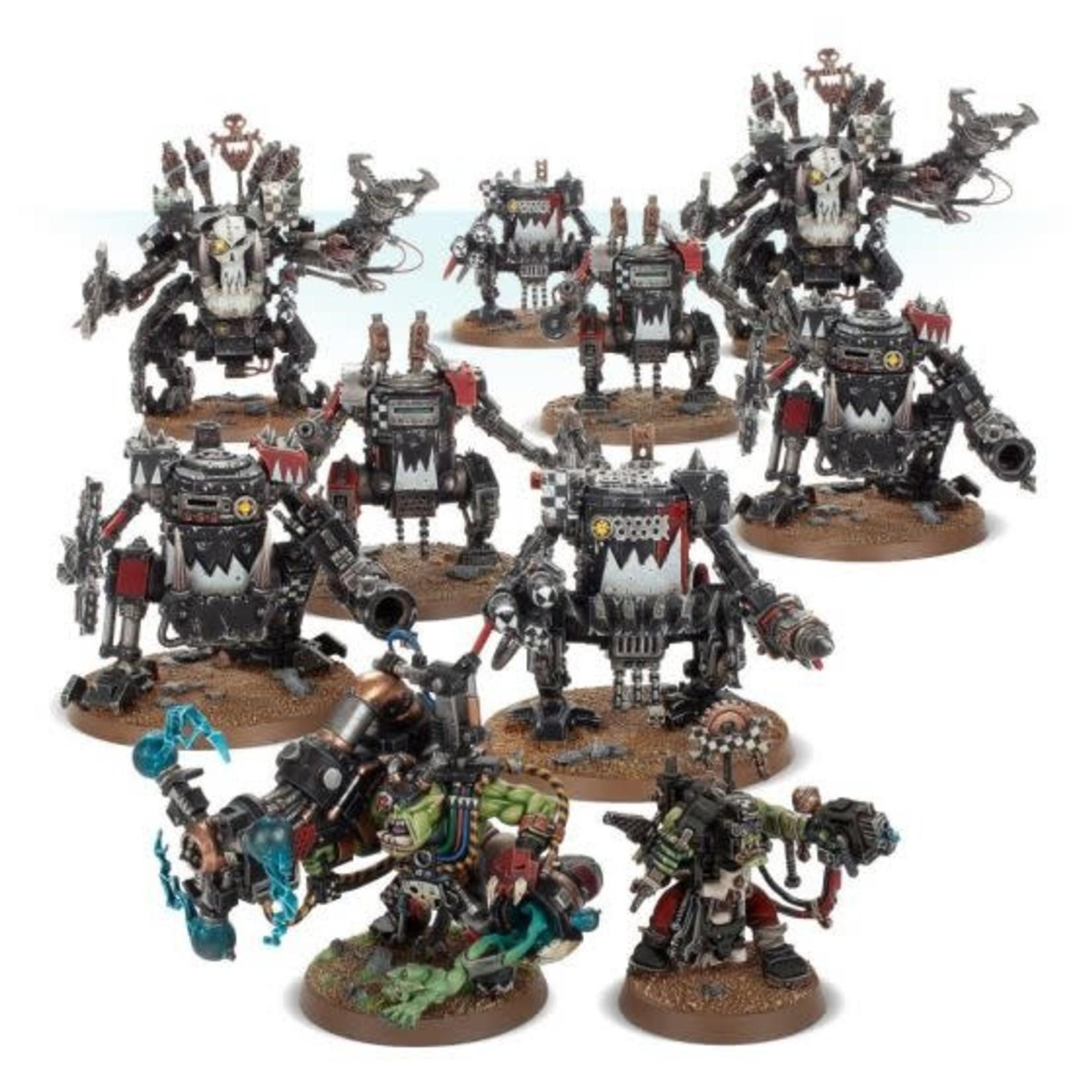 Games Workshop Warhammer 40k Apocalypse: Orks: Spearhead Detachment