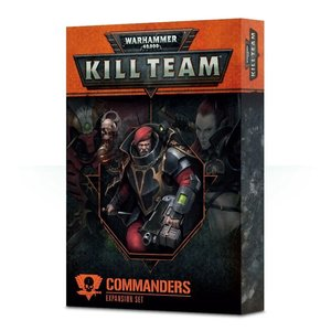 Games Workshop Warhammer 40k: Kill Team: Commanders
