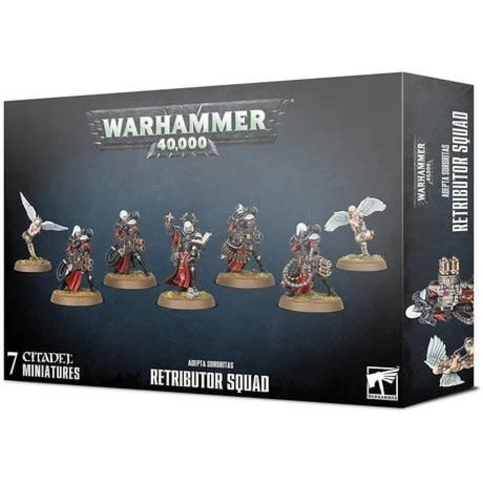 Games Workshop Warhammer 40k: Adepta Sororitas: Retributor Squad