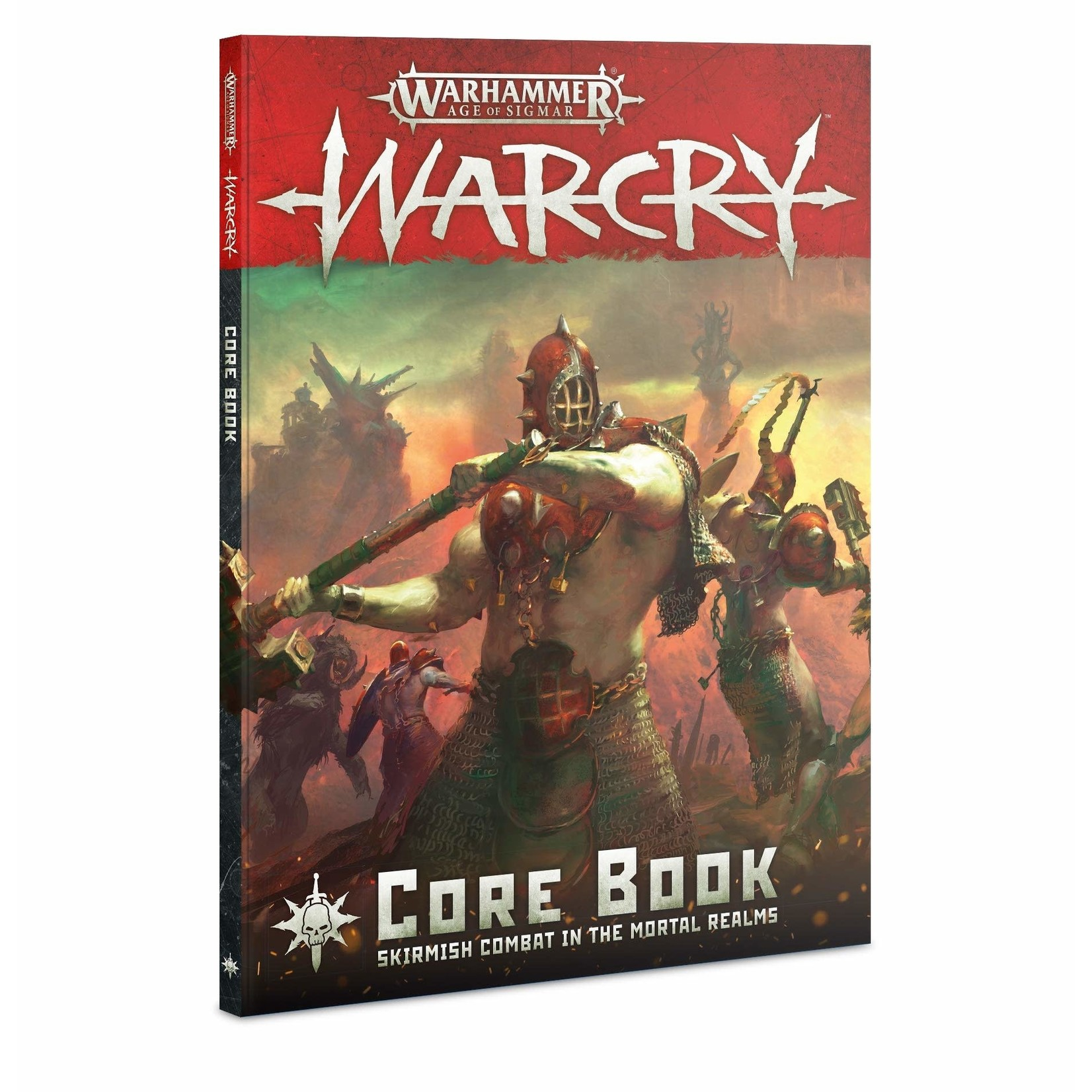Games Workshop Warhammer Age of Sigmar: Warcry Core Book