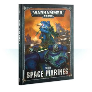 Games Workshop Warhammer 40k: Space Marines Codex (NEW)