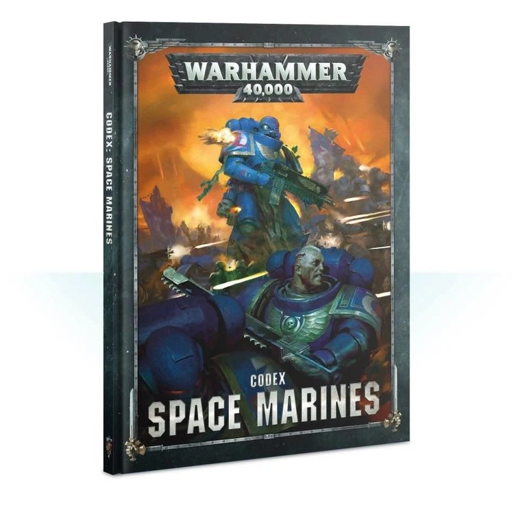 Games Workshop Warhammer 40k: Space Marines - Codex (8th ed.)