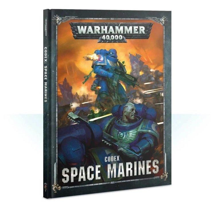 Games Workshop Warhammer 40k: Space Marines Codex (NEW)