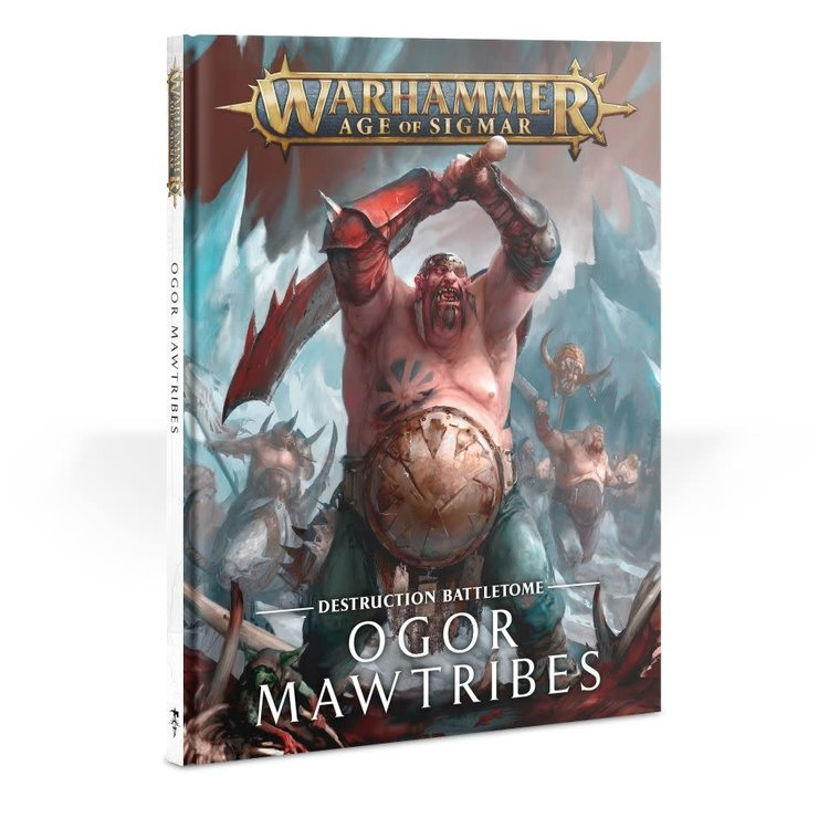 Games Workshop Warhamme Age of Sigmar: Battletome: Ogar Mawtribes