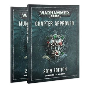 Games Workshop Warhammer 40,000 Chapter Approved 2019 Edition