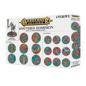 Games Workshop Warhammer Age of Sigmar: Shattered Dominion: 25 & 32mm