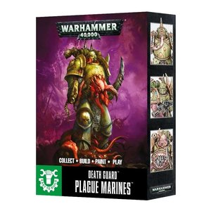 Games Workshop Death Guard Plague Marines (Easy-to-Build)
