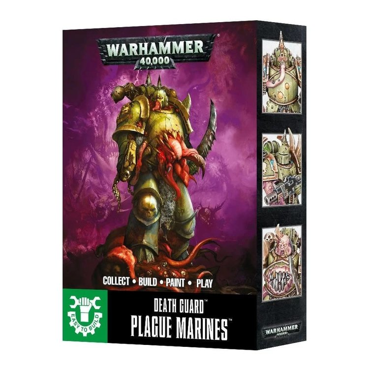 Games Workshop Warhammer 40k: Death Guard: Plague Marines (Easy-to-Build)