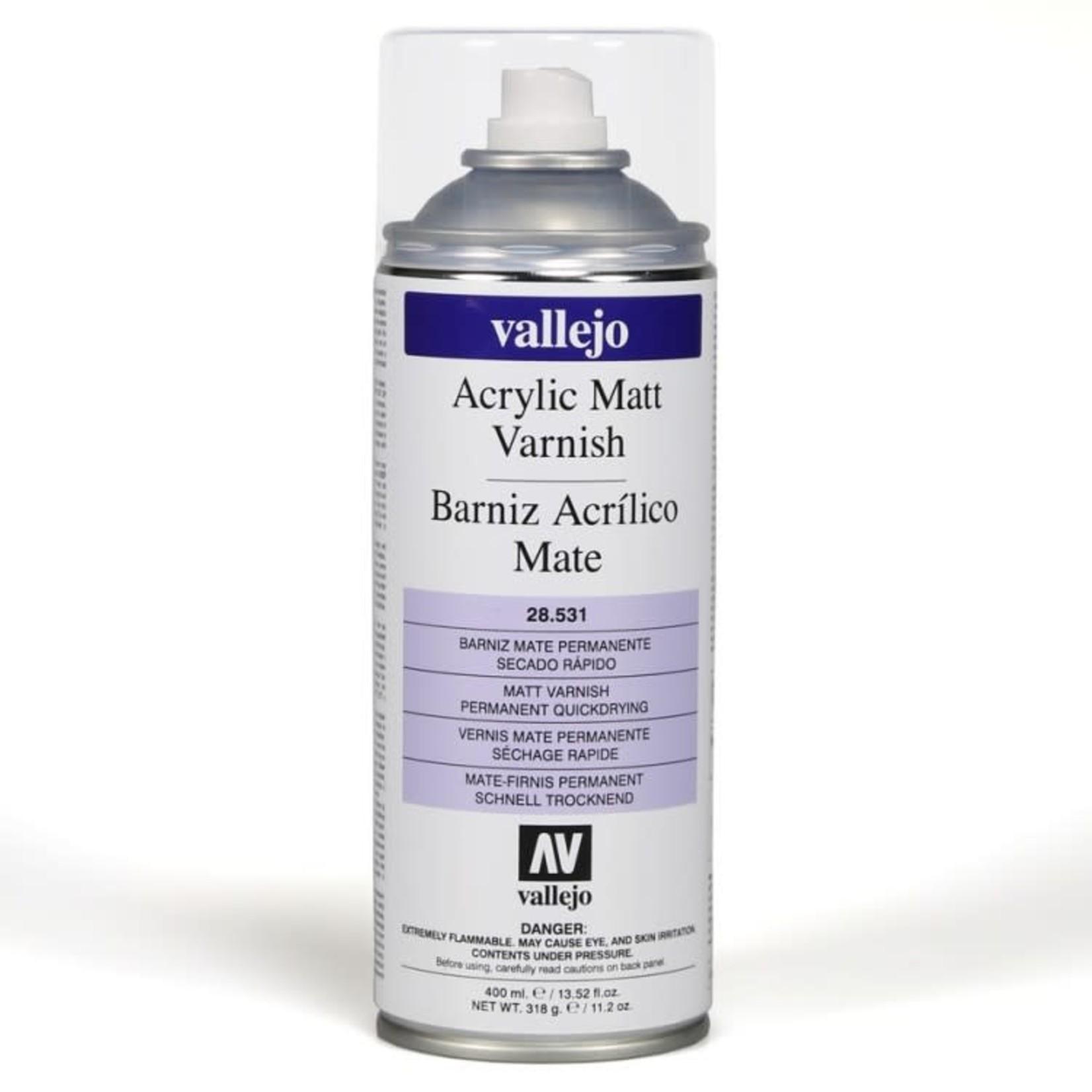 Vallejo Vallejo: Spray: Matt Varnish