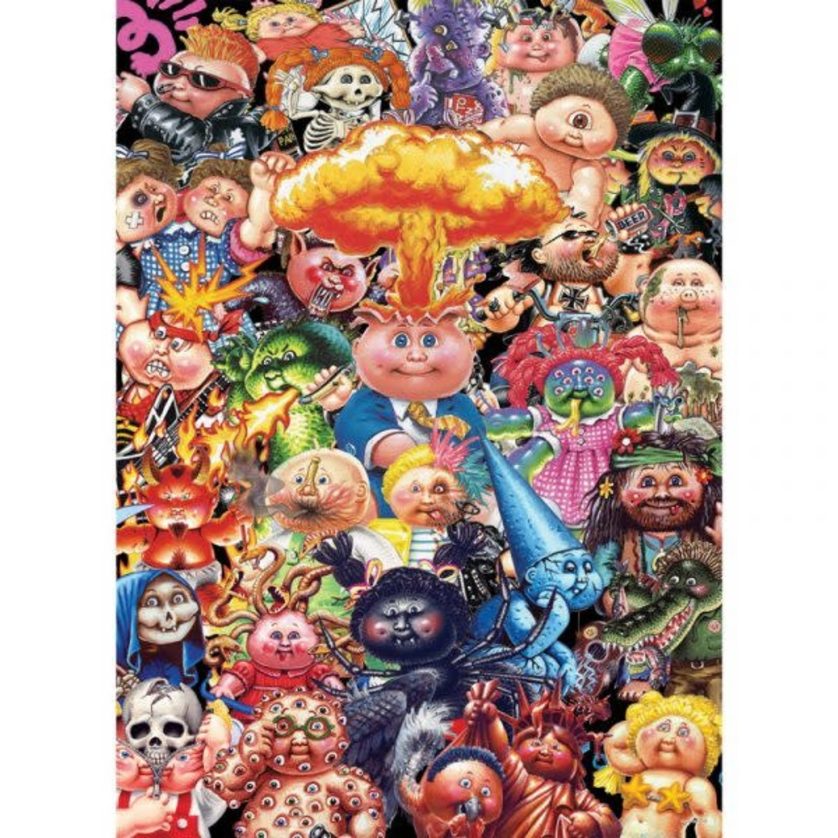 USAoploy The OP - 1000 Piece Puzzle: Garbage Pail Kids Yuck