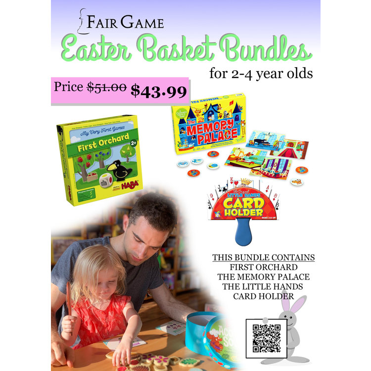 Fair Game Easter Basket Bundle for Ages 2-4
