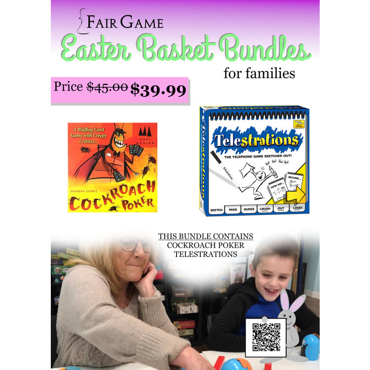 Fair Game Easter Basket Bundle for Families