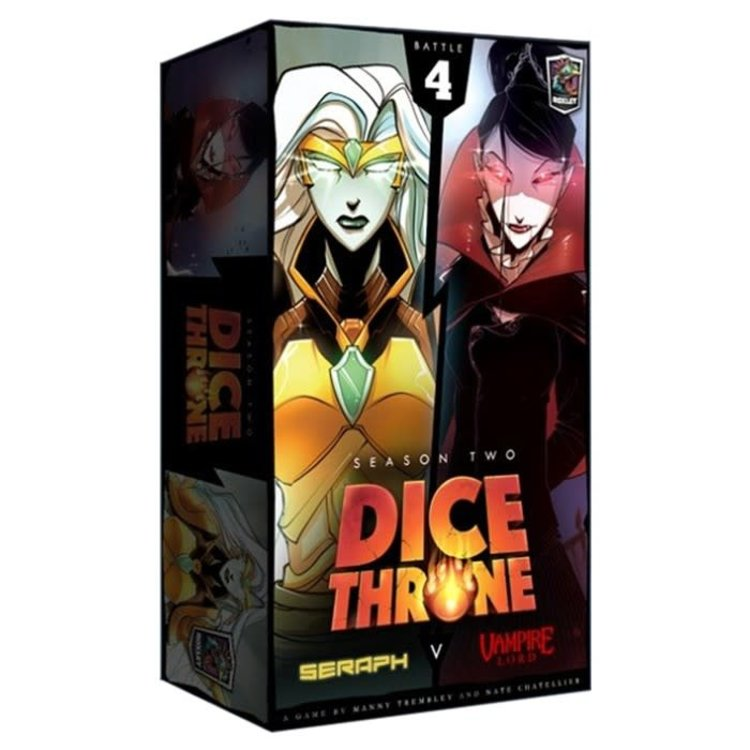 Roxley Games Dice Throne : Season Two - Seraph vs. Vampire Lord
