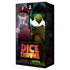 Roxley Games Dice Throne : Season Two - Tactician vs. Huntress