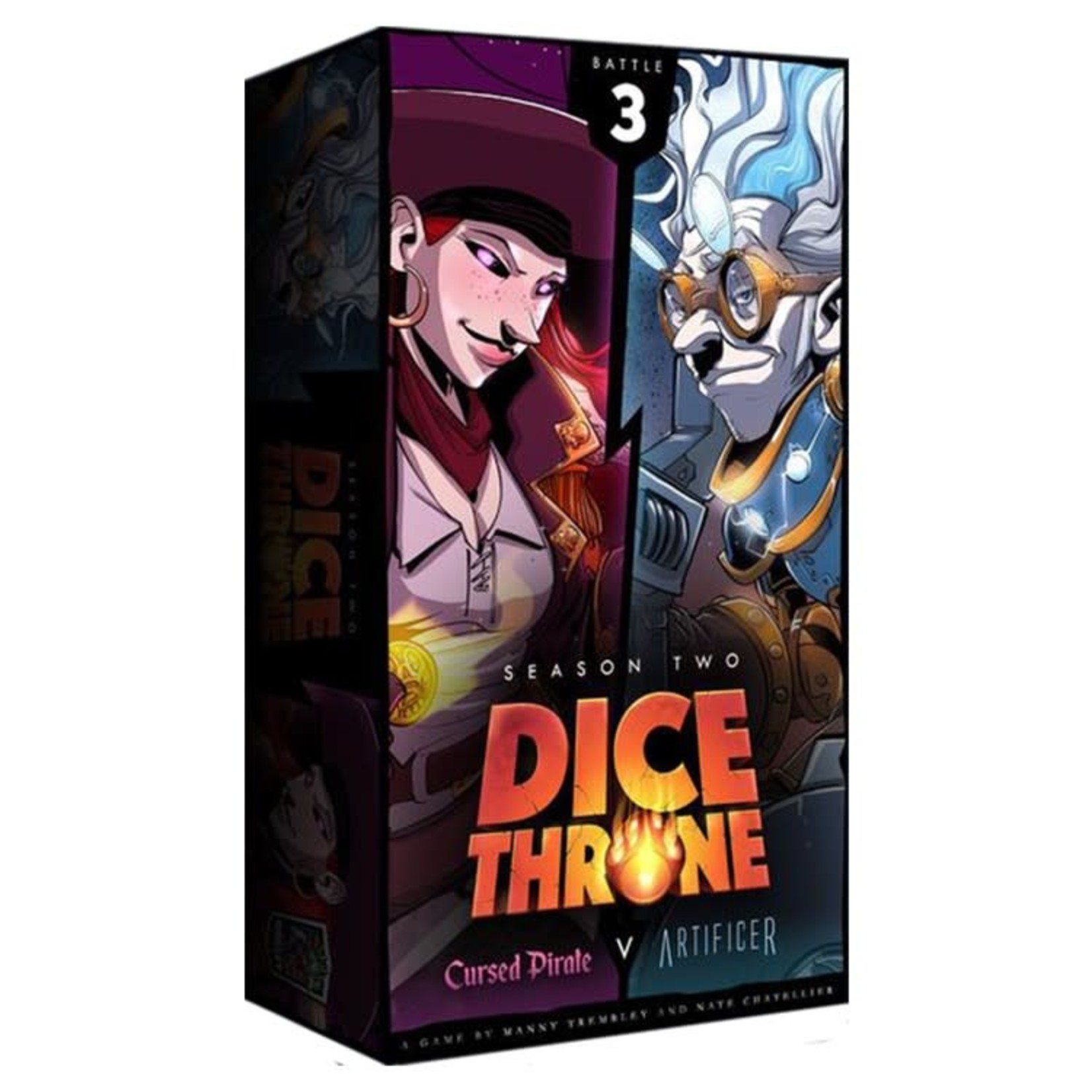 Roxley Games Dice Throne : Season Two - Cursed Pirate vs Artificer