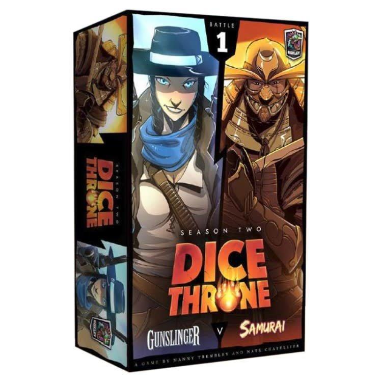 Roxley Games Dice Throne : Season Two - Gunslinger vs. Samurai