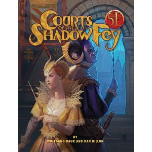 Kobold Dungeons and Dragons RPG: Courts of the Shadow Fey