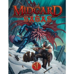 Kobold Dungeons and Dragons RPG: Midgard Sagas