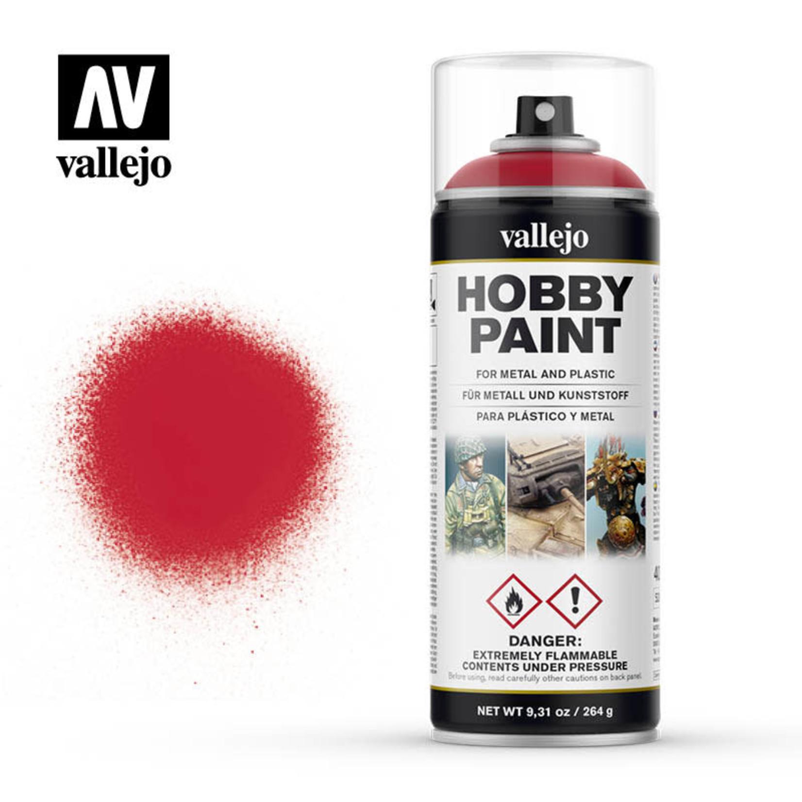 Vallejo Vallejo: Spray Primer: Bloody Red