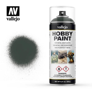 Vallejo Vallejo: Spray Primer: Dark Green