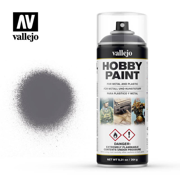 Vallejo Vallejo: Spray Primer: Gunmetal