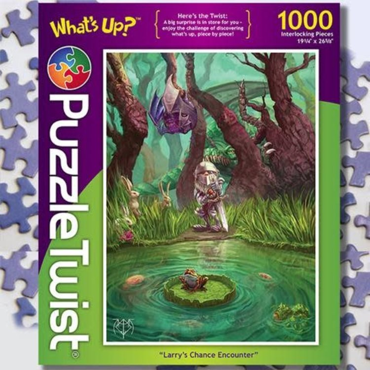 Puzzle Twist Puzzle Twist - 1000 Piece Puzzle: Larry's Chance Encounter