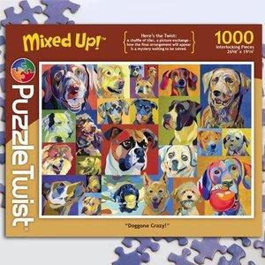 Puzzle Twist Puzzle Twist - 1000 Piece Puzzle: Doggone Crazy