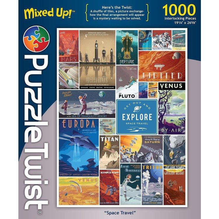 Puzzle Twist Puzzle Twist - 1000 Piece Puzzle: Space Travel
