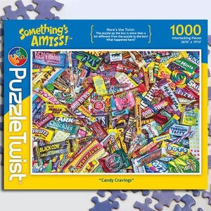 Puzzle Twist Puzzle Twist - 1000 Piece Puzzle: Candy Cravings
