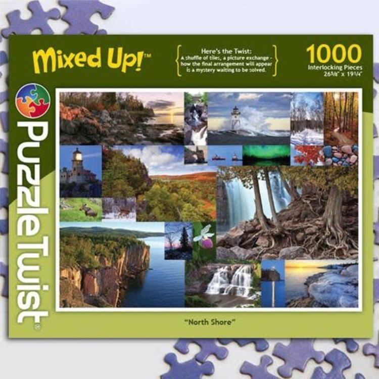 Puzzle Twist Puzzle Twist - 1000 Piece Puzzle: North Shore