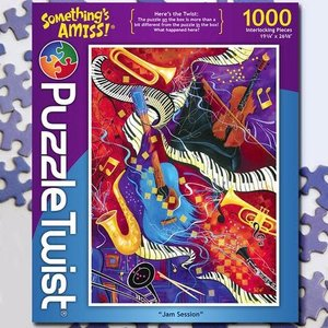 Puzzle Twist Puzzle Twist - 1000 Piece Puzzle: Jam Session