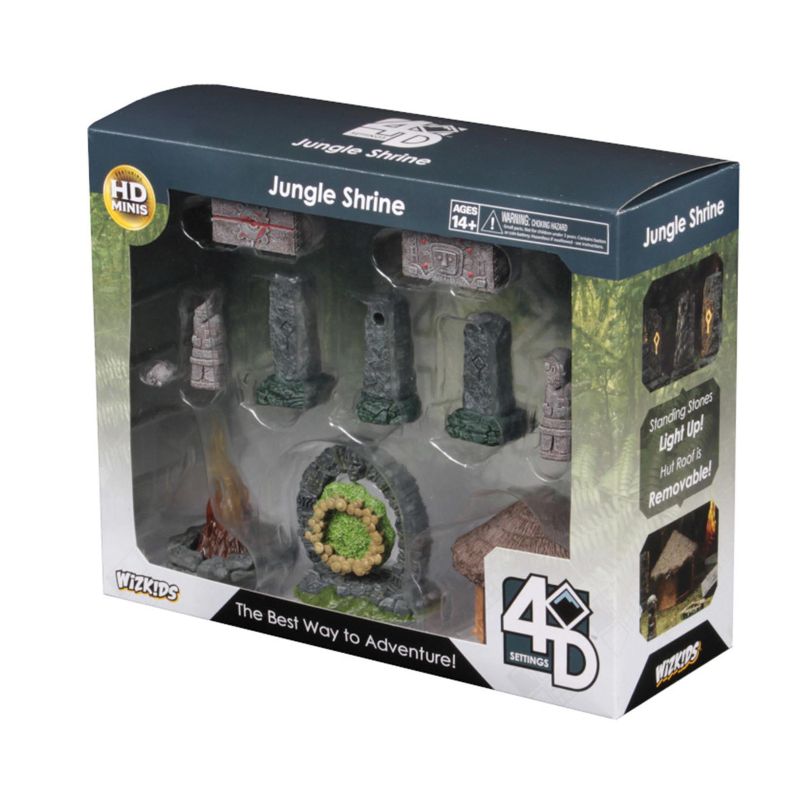 WizKids Wizkids 4D Settings: Jungle Shrine
