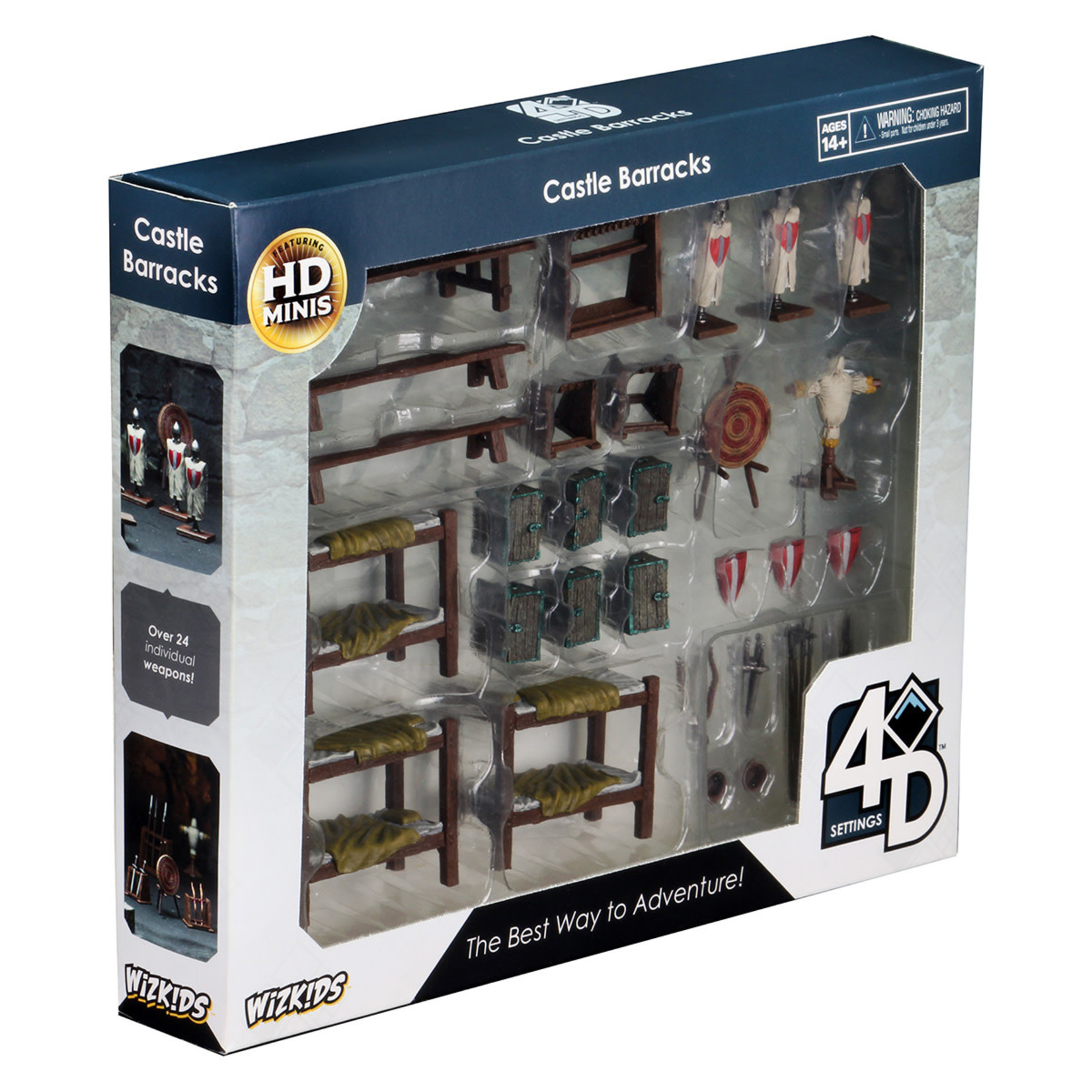 WizKids WizKids 4D Settings: Castle Barracks