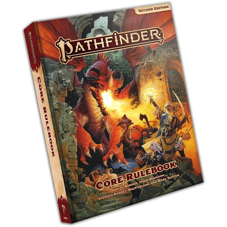 Paizo Pathfinder Second Edition: Core Rulebook