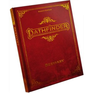 Paizo Pathfinder Second Edition: Bestiary (Special Ed)