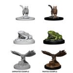 WizKids WizKids Deep Cuts Unpainted Miniatures: Familiars (W4)