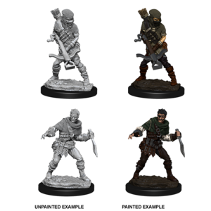 WizKids WizKids Deep Cuts Unpainted Miniatures: Bandits (W4)