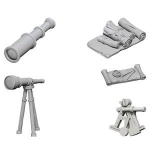 WizKids WizKids Deep Cuts Unpainted Miniatures: Navigator's Pack (W5)