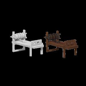 WizKids WizKids Deep Cuts Unpainted Miniatures: Torture Rack (W6)