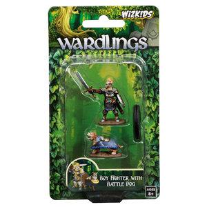 WizKids WizKids Wardlings: Boy Fighter & Battle Dog (W1)
