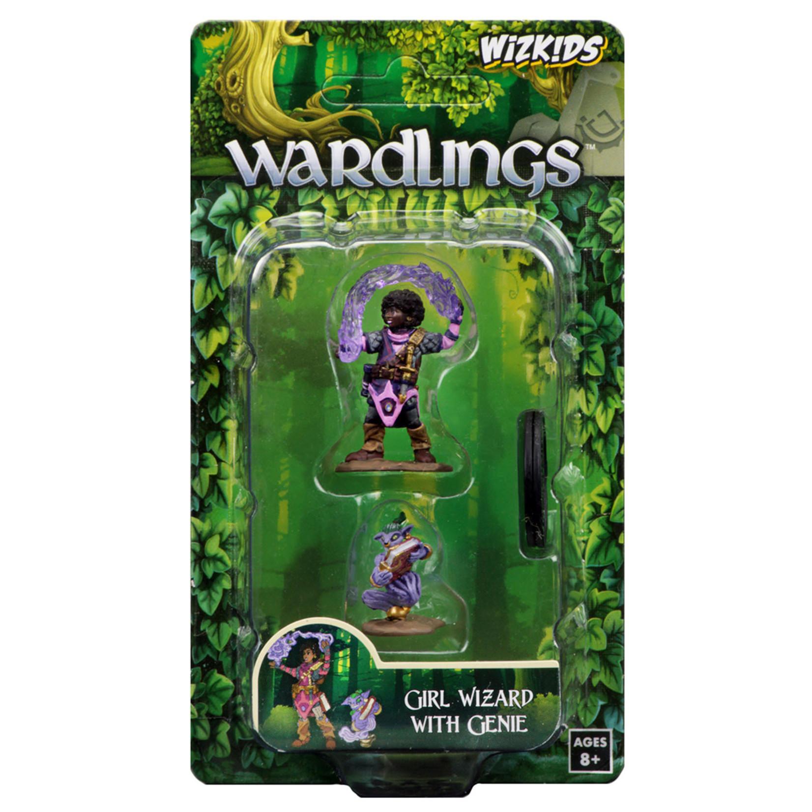 WizKids WizKids Wardlings: Girl Wizard & Genie (W1)