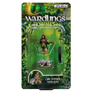 WizKids WizKids Wardlings: W2 Girl Ranger & Lynx
